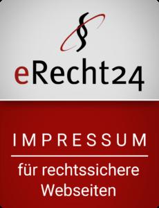 Impressum von eRecht24